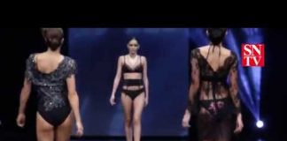 "Défilé de lingerie ""Dualism"" Salon International de la Lingerie 2017"