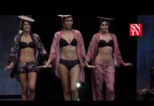 Lingerie Fashion Show 'Artist's Studio' Salon International de la Lingerie 2017