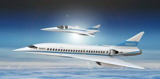 Boom Supersonic Stratasys